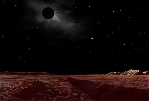 Eclipse-moon-Lucien Rudaux