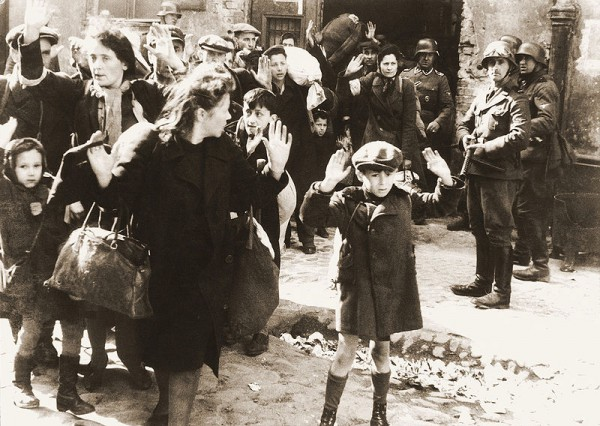 Warsaw-Ghetto-Uprising-deportation-Nazi