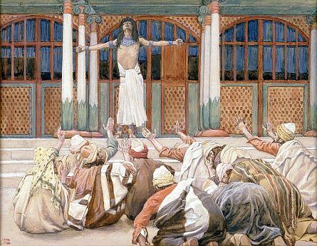 Joseph Makes Himself Known to His Brethren-James Tissot