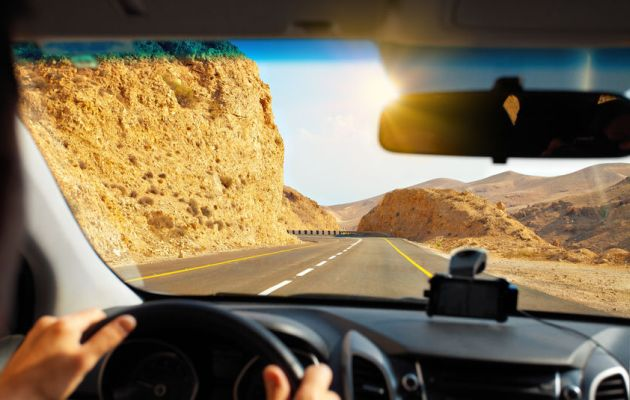 Dead sea-mountain-road-dangerous