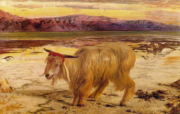 Scapegoat-William Holman Hunt