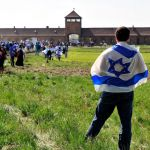 Israel flag-March of the Living-Auschwitz-Jewish teen