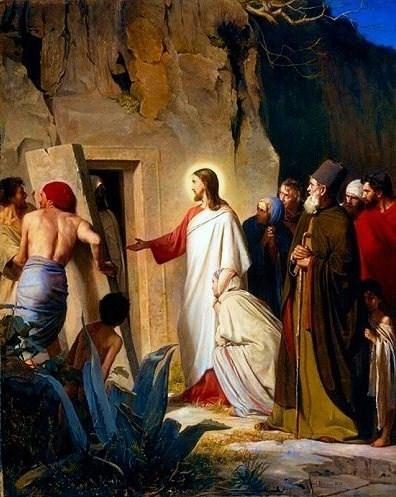 Raising of Lazarus-Bloch