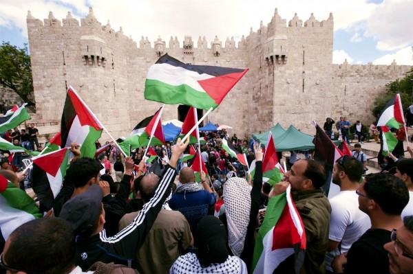 Nakba Day-Damascus Gate-Jerusalem