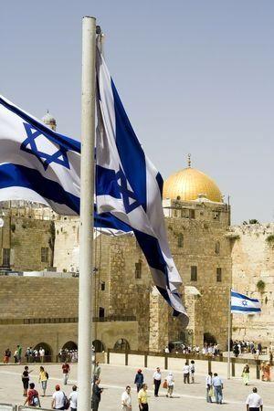 Israel-flag-Wall-Plaza