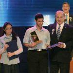 Bible contest-2014 Bible winners-Berenson-Amos-Piron-Netanyahu