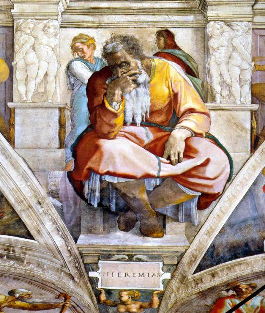 Jeremiah-Sistine-Chapel