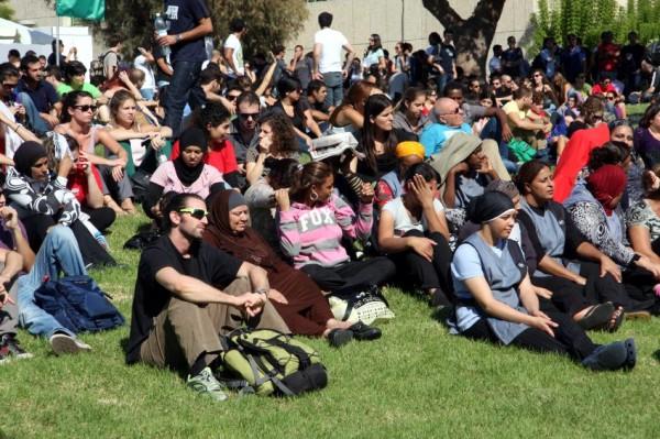 Jewish-Arab-students-strike