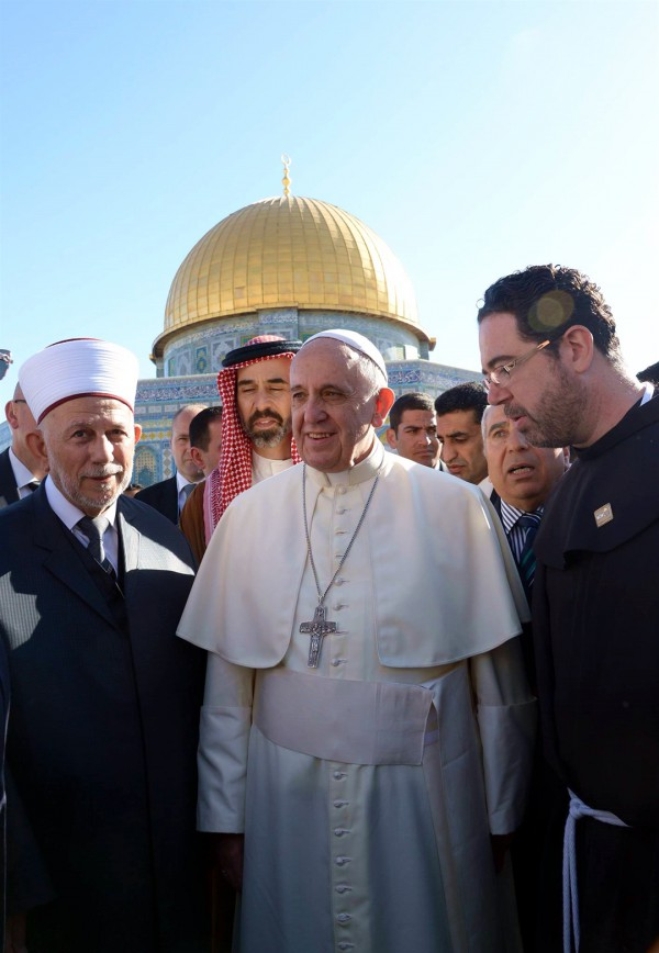 Pope Francis, Temple Mount