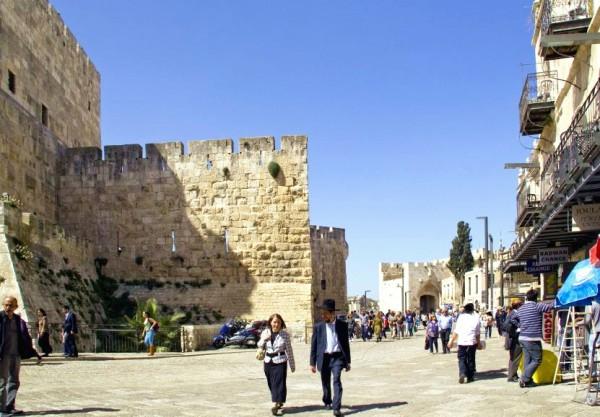 Orthodox Couple-Old City-Jerusalem