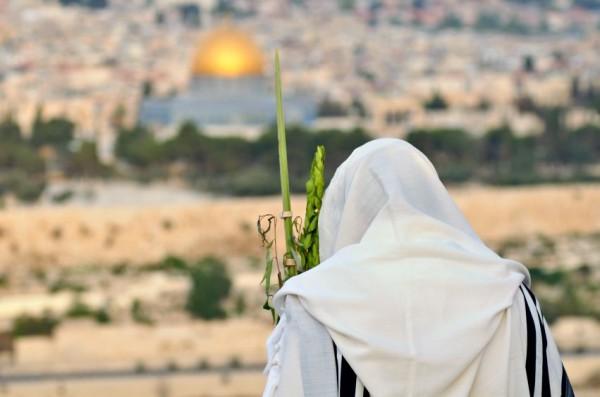 Jerusalem-Sukkot-lulav-Temple Mount