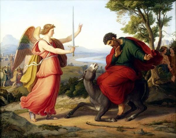 Balaam and the Angel-Gustav Jaeger