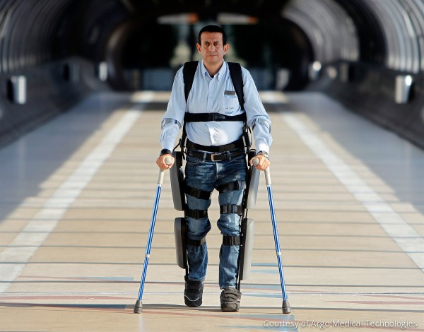ReWalk robotic exoskeleton