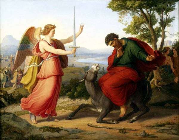 Balaam and the Angel-Gustav Jaeger