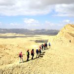 Israel-National-Trail-Big-Crater-edge-Negev-desert