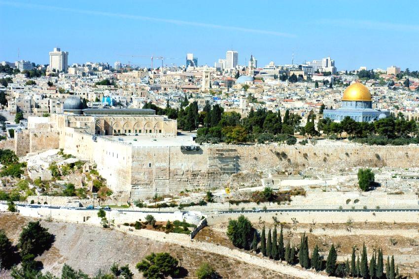 Jerusalem-Temple Mount-Dome of the Rock