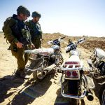 Motorcycles found in Hamas tunnels
