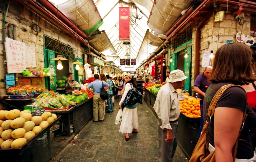 Fruit stalls-Mahane Yehuda-market-Jerusalem-The Shuk