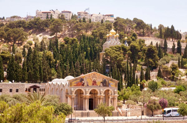 Mount of Olives Jerusalem at-Tur