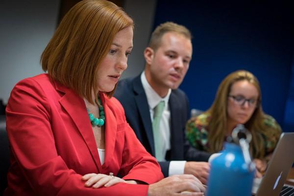 U.S. State Department spokesperson Jen Psaki