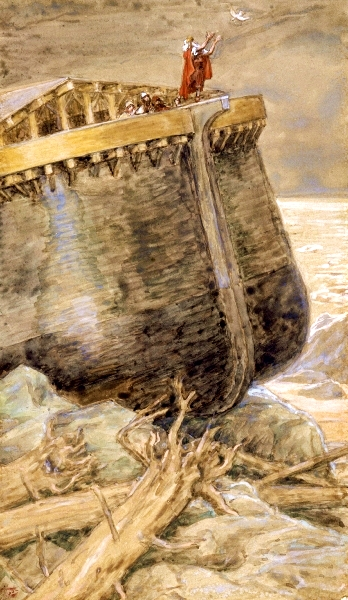 Tissot-The Dove Returns to Noah