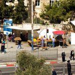 multi ethnic streets of Jerusalem