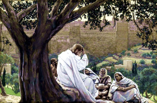 The Prophecy of the Destruction of the Temple, by James Tissot