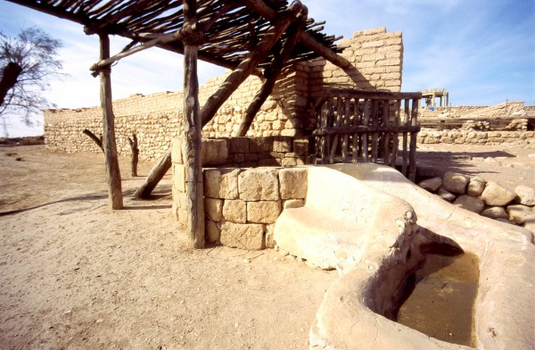 Ancient well beer sheba