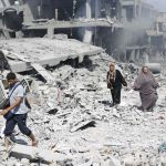 destruction Hamas Shujaiya Gaza