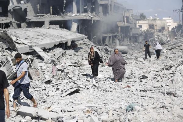 destruction-Hamas-Shujaiya Gaza-Operation Protective Edge