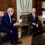 Secretary of State John Kerry-PM Benjamin Netanyahu-King Abdullah II-Amman