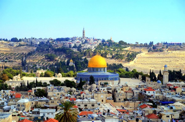 Temple Mount-Dome of the Rock