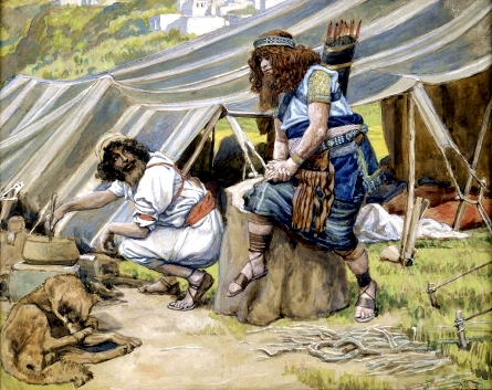 The Mess of Pottage, by James Tissot
