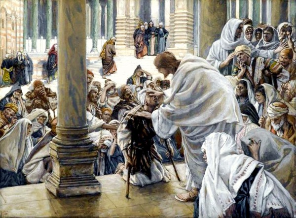 Yeshua Heals the Lame, by James Tissot