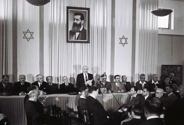 David Ben-Gurion, State of Israel, Independance
