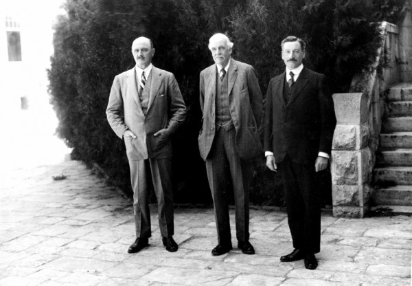 Isreal High Commissioner Herbert Samuel Arthur Balfour  Edmund Allenby