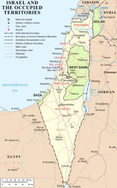 Today, many around the world demand that Israel be divided into an Arab and a Jewish state, a move that would leave the borders unworkable and unsecure.