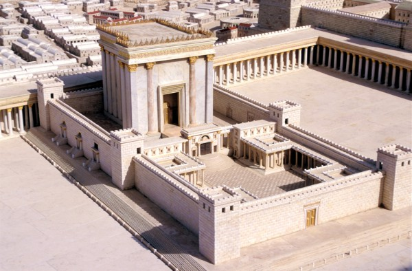 Second Temple-model