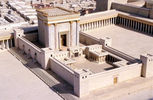 Model-Second Temple-Jerusalem-Temple Mount