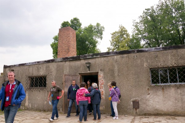 Auschwitz crematorium for disposing of murdered Jews and other victims of the Holocaust.