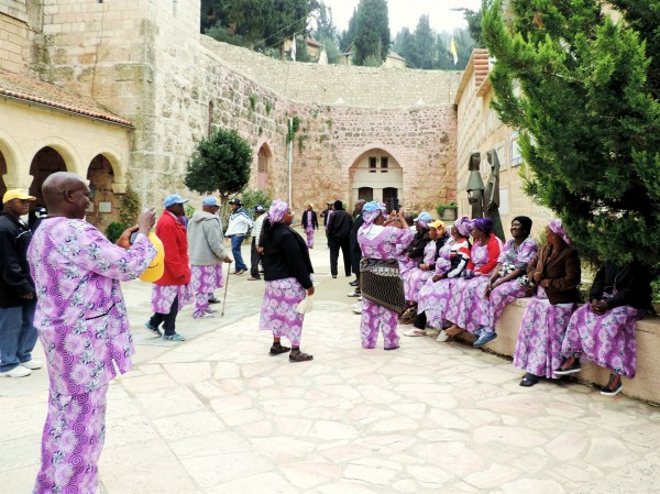 Nigeria-Israel-Christians-Pilgrims-Church of the Visitation-Jerusalem