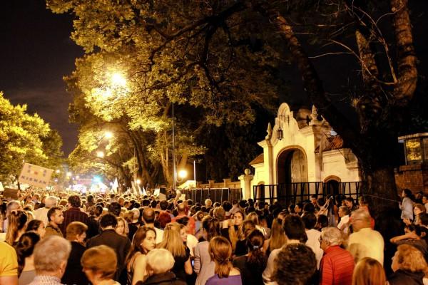 Nisman protest-Buenos Aires-Argentina