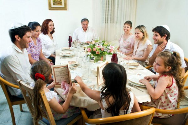 Passover Seder with the family