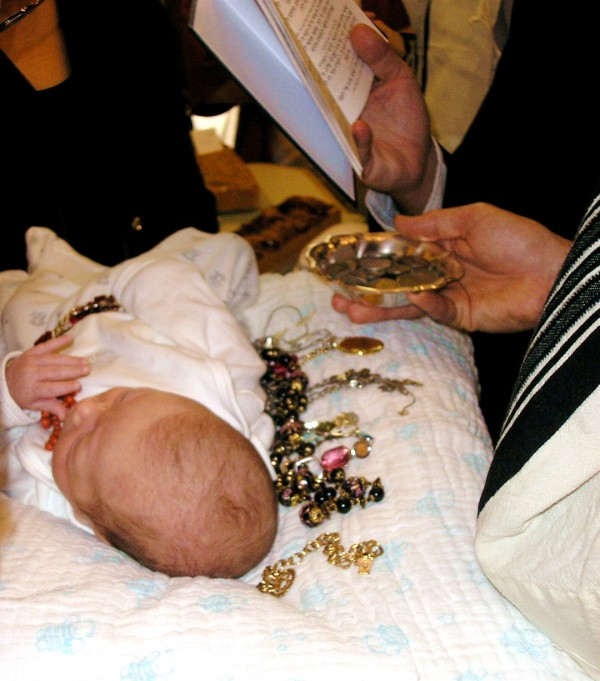 Jewish tradition-redeeming the firstborn