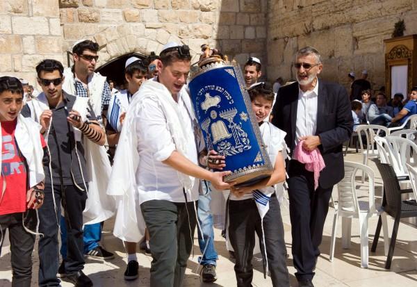 Kotel-Western Wall-Wailing Wall-Torah-scroll-Sefer-tik