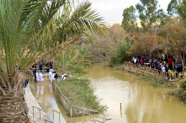 Epiphany-Yeshua's Mikvah-baptism-Jordan River