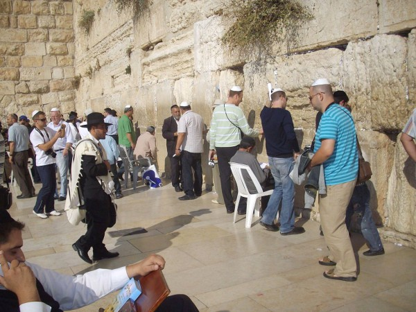 Jewish-prayer- Western-Wall-Jerusalem