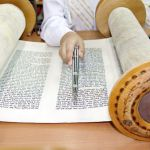 Torah scroll-yad