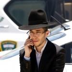 Orthodox Jewish man-cellphone-Jerusalem