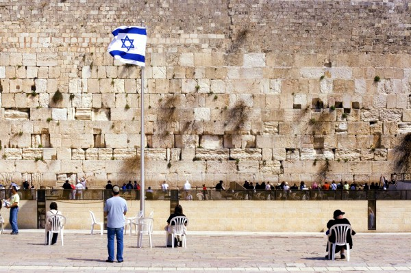 Prayer at the Western (Wailing) Wall in Jerusalem